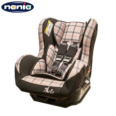 NANIA 0-4歲安全汽座時尚巴黎系列(米格)