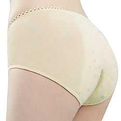 思薇爾 朵朵雲輕甜風系列M-XXL夜用中腰生理褲(奶酪黃)