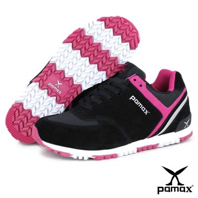 PAMAX帕瑪斯-兼具運動鞋、休閒鞋、慢跑鞋-PP369-BWP