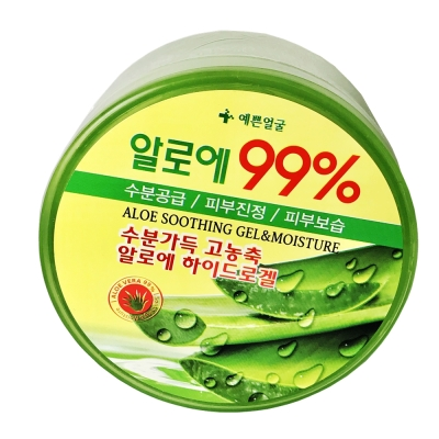 新一代 韓國 99 %蘆薈膠  300 g 大容量 保濕補水 保濕凝膠 ( 2 入)