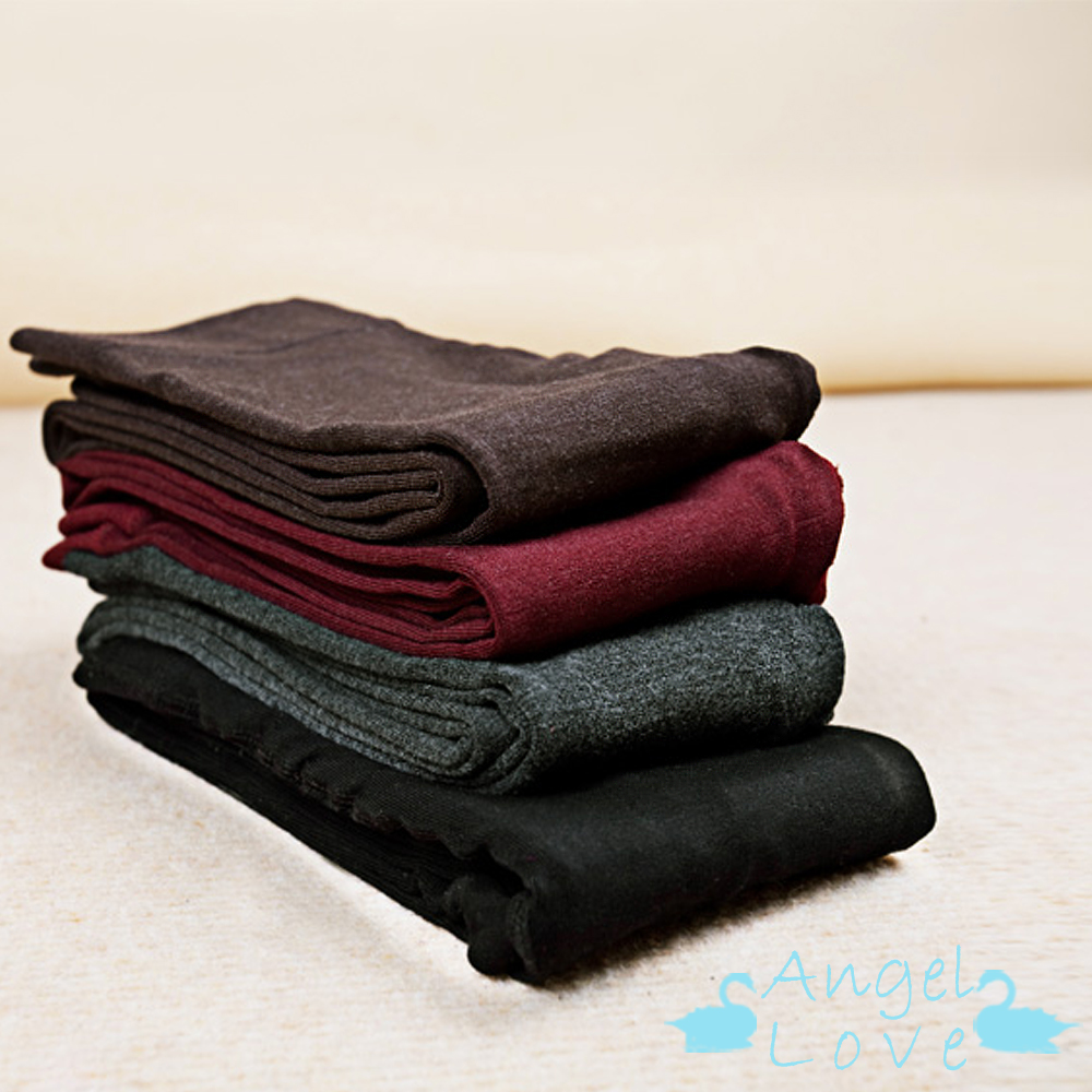 Angel Love 保暖羊毛彈性修身褲襪 (共三色)