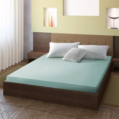 幸福角落 防蹣抗菌10cm竹炭釋壓記憶床墊-雙人加大6尺