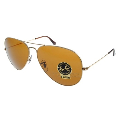 RAY BAN太陽眼鏡 經典品牌/金-棕色#RB3025 00133(大版)