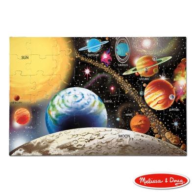 美國瑪莉莎 Melissa & Doug 大型地板拼圖 - 太陽系行星 48片