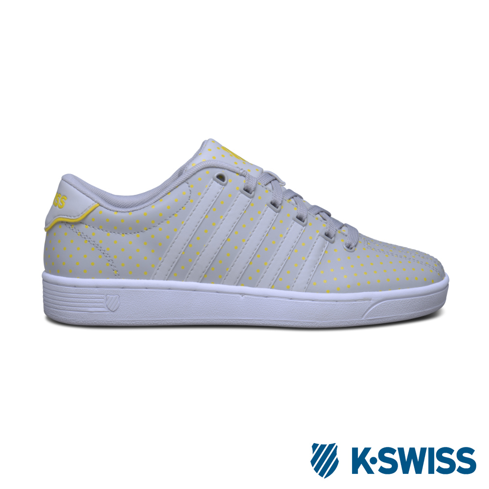 K-Swiss Court Pro II CMFDOTS休閒運動鞋-女-灰/圓點
