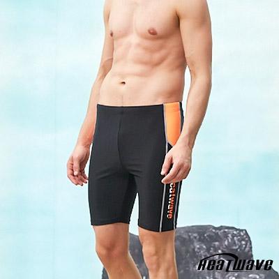 Heatwave熱浪 男泳褲 七分馬褲-海岸線