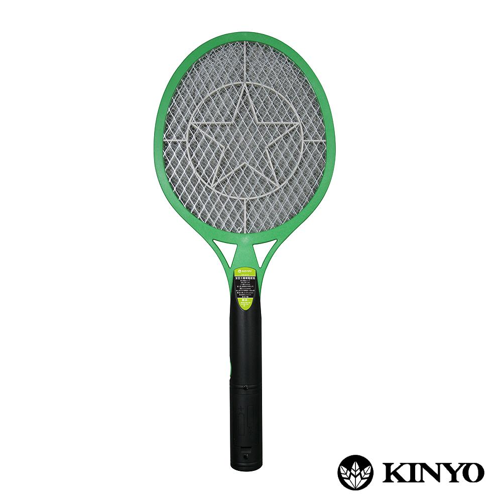 KINYO安全3層電池式強力電蚊拍(CM2210)