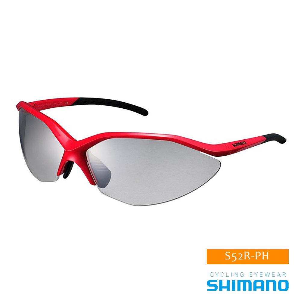 SHIMANO S52R-PH 運動太陽眼鏡 紅黑