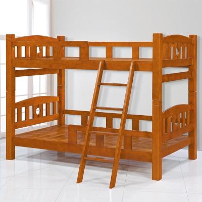 Bernice-尼斯3.5尺全實木雙層床架