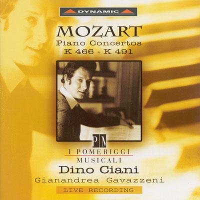 莫札特-鋼琴協奏曲-K466-491-CD