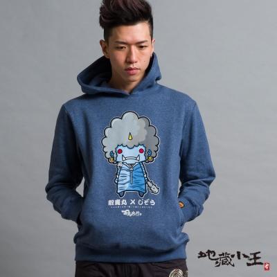 地藏小王 BLUE WAY 靛魔丸公仔連帽T恤