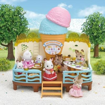 EPOCH-森林家族-濱海冰淇淋店