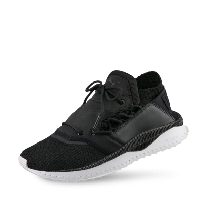 PUMA-TSUGI Shinsei 男女復古慢跑運動鞋-黑色