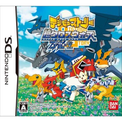 數碼寶貝物語 超合體大戰 (藍版) - NDS亞洲日文版