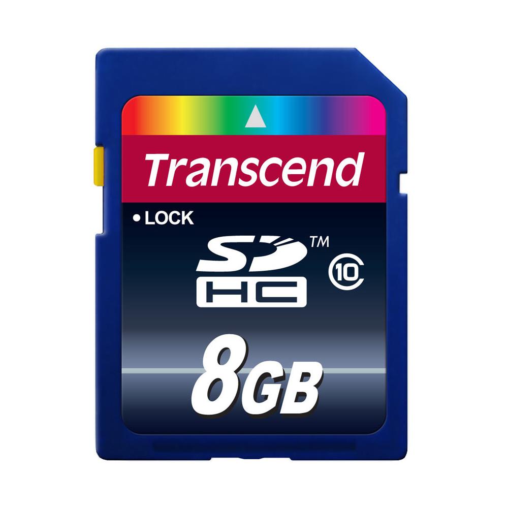 【春節福袋】創見8GB SDHC Class10記憶卡超值組