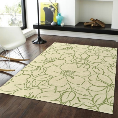 Ambience-比利時infinity 現代地毯 -朵麗(綠)(160x230cm)