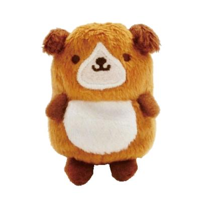 UNIQUE 動物樂園沙包小公仔。小棕狗
