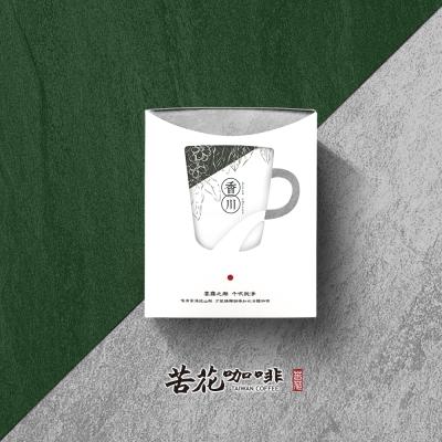 苦花咖啡 台灣高山咖啡-100%純台灣咖啡 耳掛20入(香川系列)