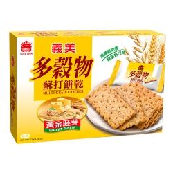 義美 多穀物黃金胚芽蘇打餅(270g)