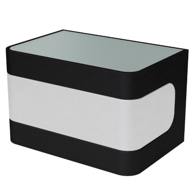AT HOME - 布蘭妮雙色一抽床頭櫃(兩色可選) 60x40x39cm