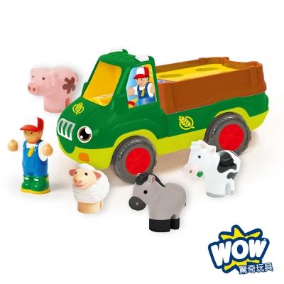英國品牌 WOW Toys 驚奇玩具 農場卡車 佛雷迪