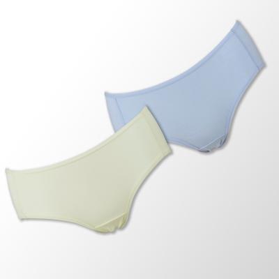 蕾黛絲-伴你一生(牛奶紗)棉褲二件包(中腰)M-EL 藍/黃