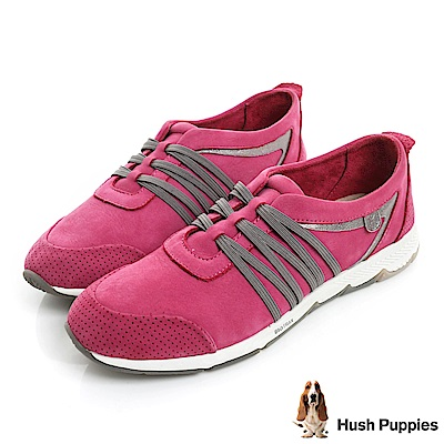 Hush Puppies CESKY 機能健走鞋-桃紅
