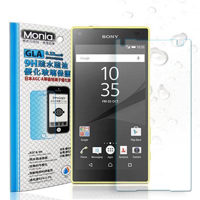 MONIA Sony Xperia Z5 Compact 日本頂級疏水疏油9H鋼...