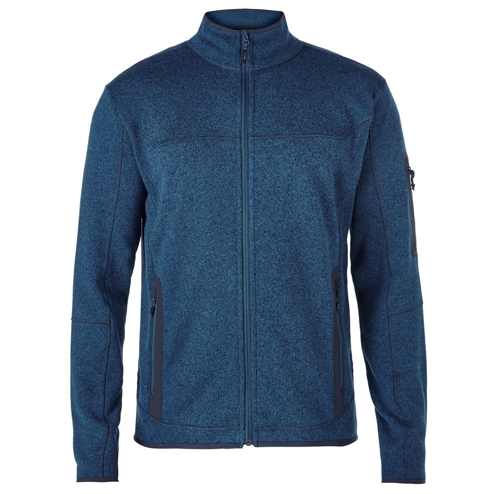 【Berghaus 貝豪斯】男款 TULACH刷毛保暖外套H22M30藍