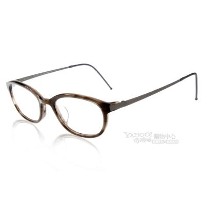 JULIO眼鏡 完美工藝/灰棕色#NEWARK GHN