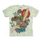 摩達客 美國進口The Mountain 渦紋蛙 純棉環保短袖T恤