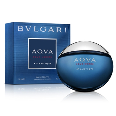 BVLGARI寶格麗 勁藍水能量男性淡香水50ml