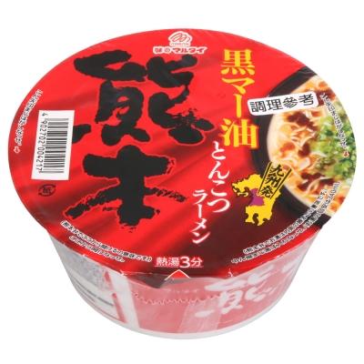 Marutai 熊本黑麻油豚骨拉麵(76g)