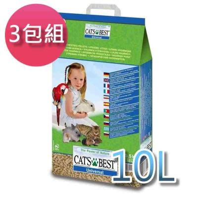凱優CAT'S BEST 藍標木屑砂 5.5KG 三包組