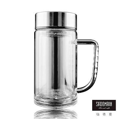 仙德曼SADOMAIN 雙層玻璃辦公杯360ml
