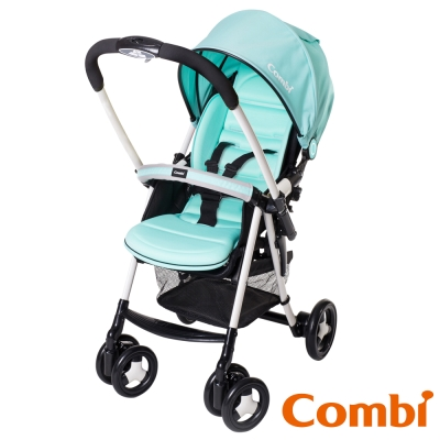【Combi 康貝】 城市輕休旅雙向嬰幼兒手推車Urban Walker Lite MC 風象綠
