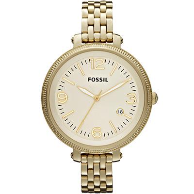 FOSSIL-Heather-法式浪漫大錶徑girl-腕錶-金-42mm