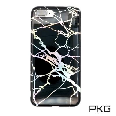 PKG Apple IPhone 7/8 Plus 手機套(時尚雷射冰裂紋)
