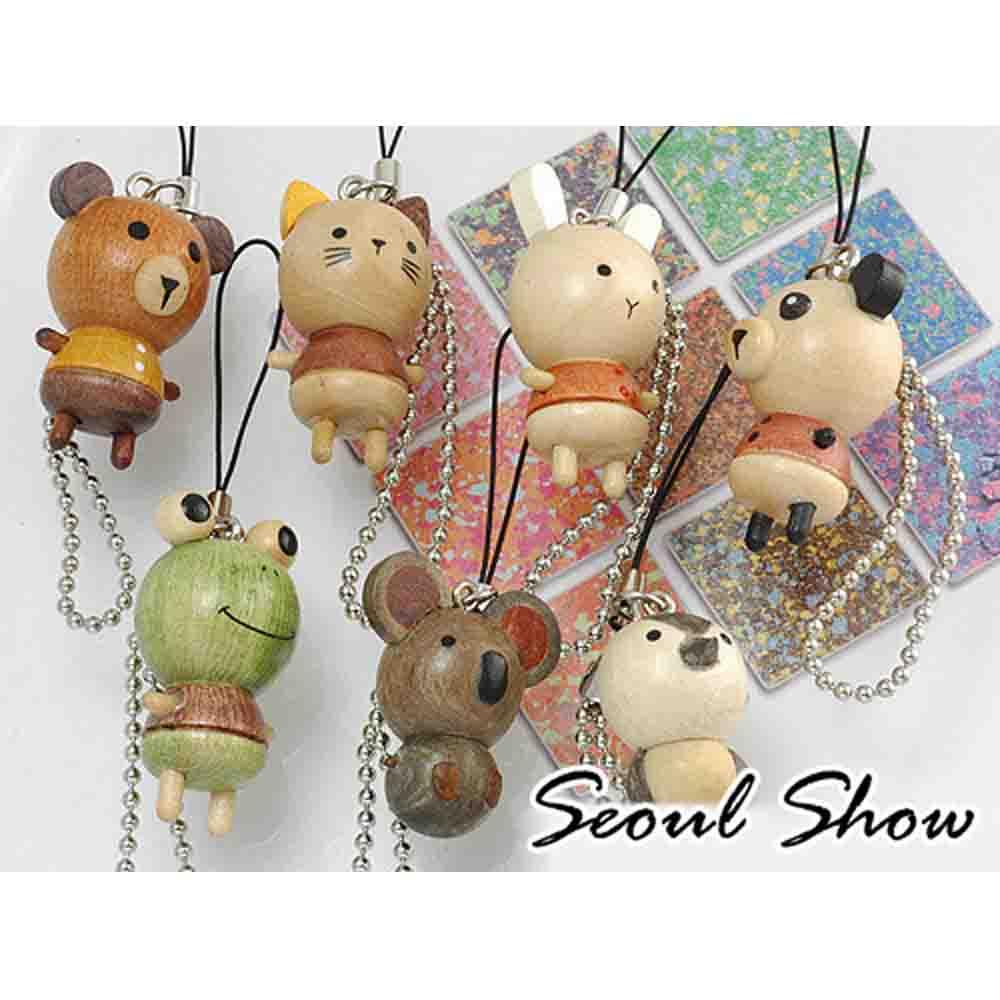 Seoul Show 可愛小動物吊飾7款