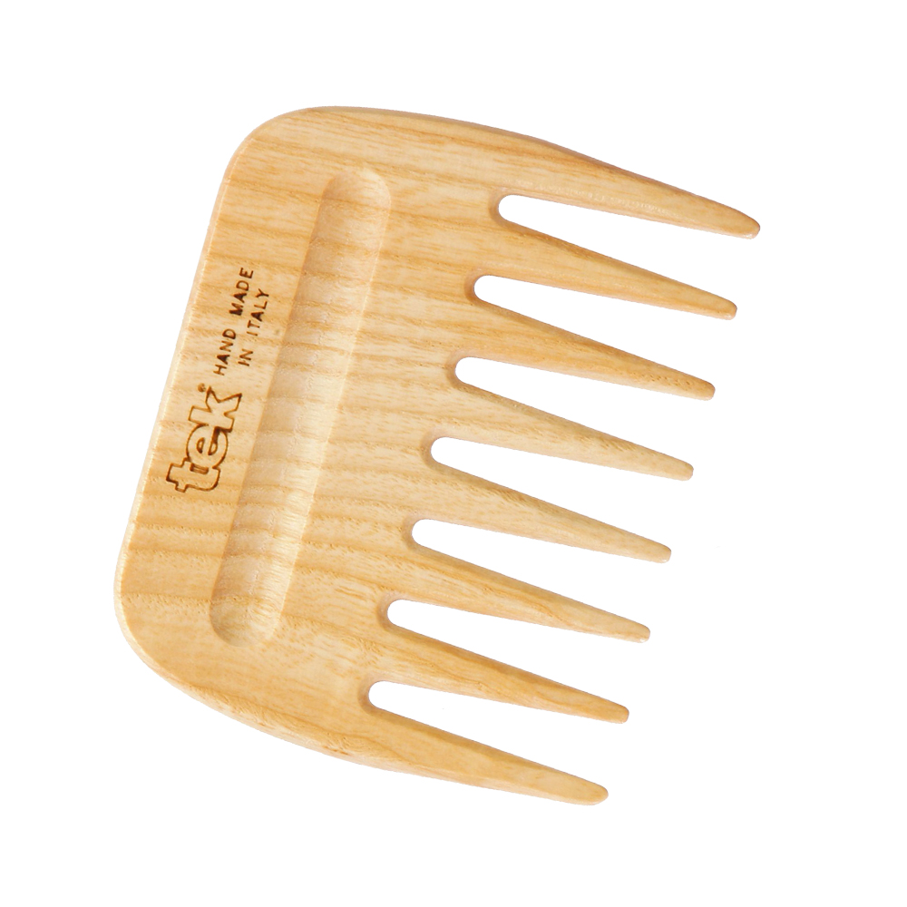 Tek 大象梳-純原木短柄梳