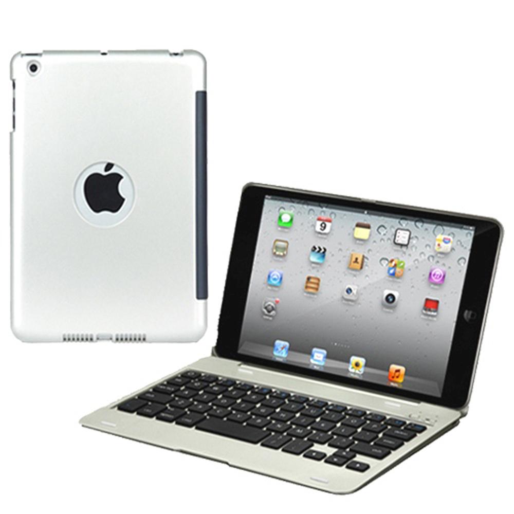 iPad Mini/Mini 2/Mini 3 專用貝殼式藍牙鍵盤筆電盒