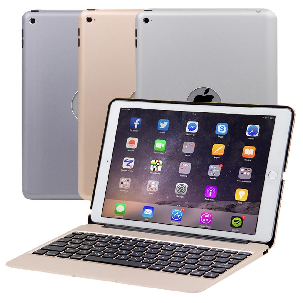 iPad Air2專用超薄全鋁合金藍牙鍵盤筆電盒