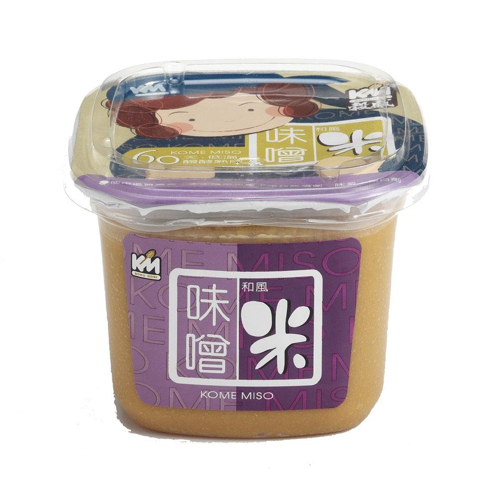 穀盛 有機米味噌(500g)
