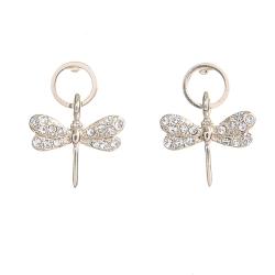 Aimee Toff 蜻蜓點水金亮精品耳環