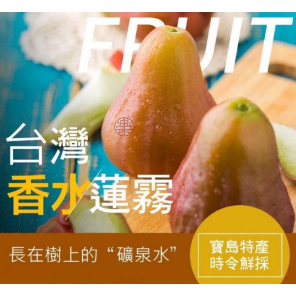 (滿999任選)【水果大王】蓮霧界中的LV-巴掌大香水蓮霧2顆入