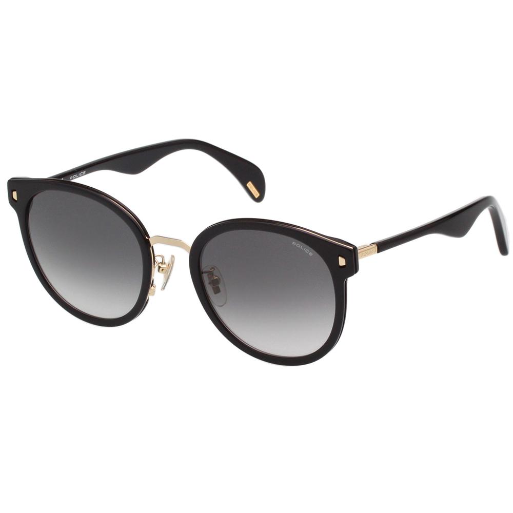 POLICE 復古 太陽眼鏡 (黑色) SPL617