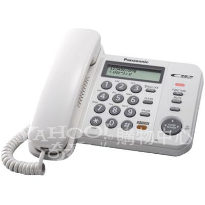 Panasonic 國際牌  免持擴音 有線來電顯示電話機 KX-TS580(白)
