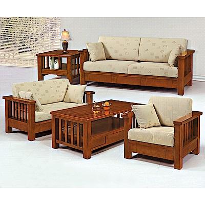 H&D 樟木板椅5件組 (寬429X深80.5X高64cm)