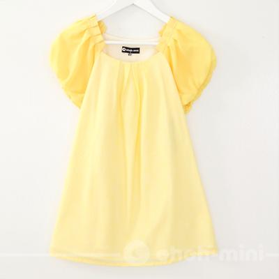 【ohoh-mini 孕婦裝 】花苞袖雪紡孕婦上衣