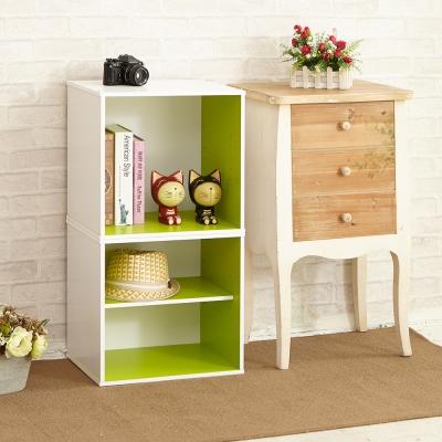 IKLOO宜酷屋現代風二格收納櫃置物櫃入41x30x40.5cm